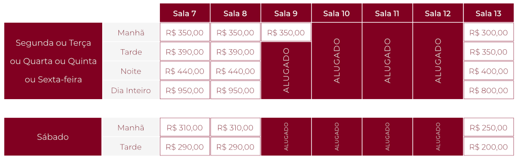 Valores My Place FL